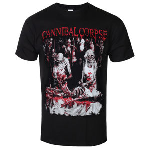 PLASTIC HEAD Cannibal Corpse BUTCHERED AT BIRTH Čierna S