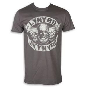 PLASTIC HEAD Lynyrd Skynyrd BIKER PATCH Čierna XXL