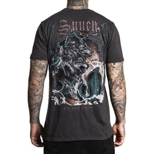 tričko hardcore SULLEN WOLF PAQ Čierna XL