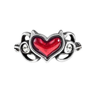 prsteň ALCHEMY GOTHIC - Little Devil Heart - R238 N