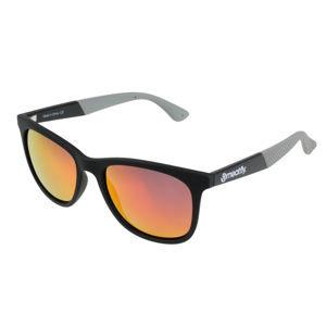 okuliare slnečné MEATFLY - CLUTCH A 4/17/55 - BLACK/GREY - MEAT130