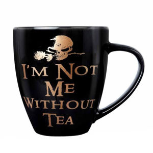 hrnček ALCHEMY GOTHIC - Not Me Without Tea - ALMUG8