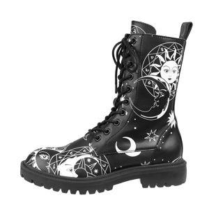 topánky s klinom KILLSTAR Astral