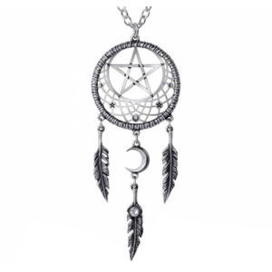 obojok ALCHEMY GOTHIC - Pagan Dream Catcher - P873
