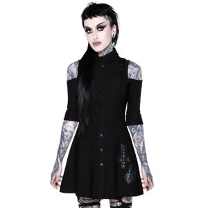 šaty KILLSTAR Paranormal Shirt-Dress XXL