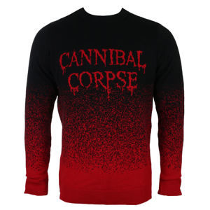 sveter PLASTIC HEAD Cannibal Corpse DRIPPING LOGO M