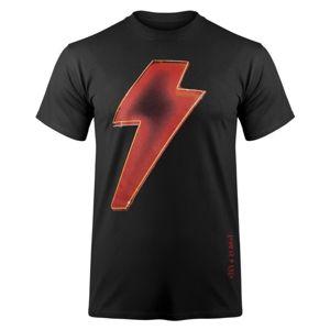 Tričko metal F.B.I. AC-DC Power Up Čierna XXL