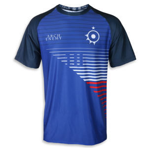 Tričko metal Arch Enemy Football France Čierna S