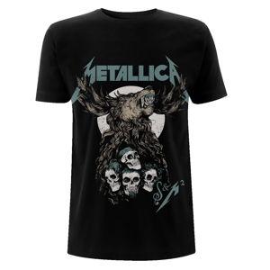 Tričko metal NNM Metallica S&M2 Skulls Čierna L