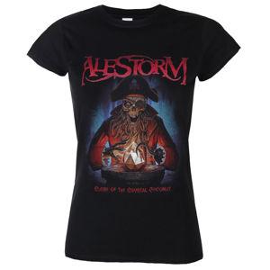 Tričko metal NAPALM RECORDS Alestorm Curse of the Crystal Coconut Čierna S