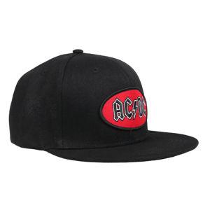 šiltovka ROCK OFF AC-DC Oval Logo BL