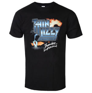 PLASTIC HEAD Thin Lizzy THUNDER AND LIGHTNING Čierna