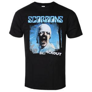 tričko metal LOW FREQUENCY Scorpions Blackout Čierna L