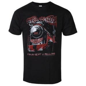 tričko metal LOW FREQUENCY Aerosmith Train kept a going Čierna XL