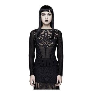tričko dámske s dlhým rukávom DEVIL FASHION - TT129