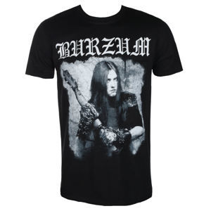 Tričko metal PLASTIC HEAD Burzum ANTHOLOGY 2018 Čierna M