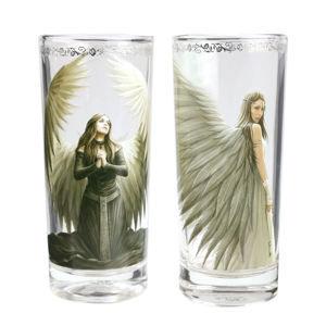 poháre (sada 2 kusov) ANNE STOKES - GL02AS05