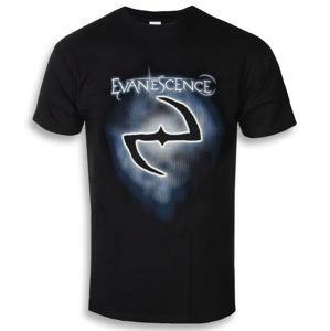 tričko metal ROCK OFF Evanescence Classic Logo Čierna L