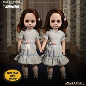 bábika (dekorácia) The Shining - Living Dead Dolls - Talking Grady Twins - MEZ99580