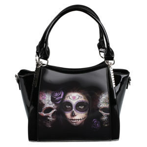kabelka (taška) ANNE STOKES - Day Of The Dead - Black - AS002
