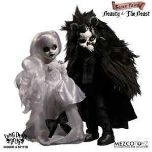 bábika Living Dead Dolls - Scary Tales Beauty and the Beast - MEZ95065