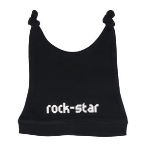 čiapka detská rock star in white - black - Metal-Kids - 349-15-8-7