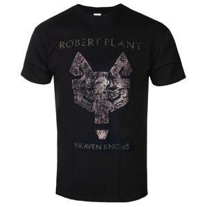 tričko metal NNM Robert Plant Heaven Knows Čierna S